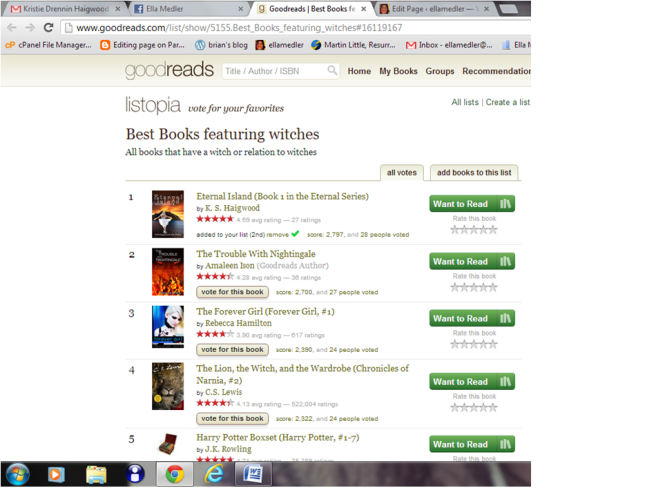 goodreads list